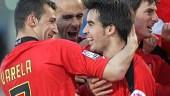 vista previa del artículo El Mallorca golea al Valencia