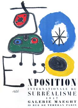 Carteles de Miró