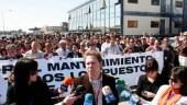 vista previa del artículo Los trabajadores de Spanair protestan por el traslado