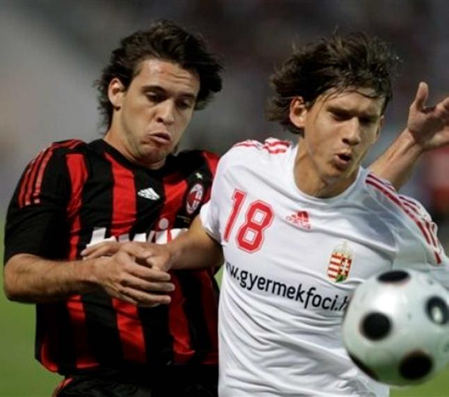 Hungary Soccer Milan