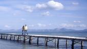 vista previa del artículo Baleares está encima de la medida de turistas por kilómetro de playa