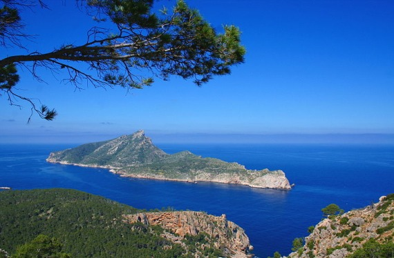 Vistas desde Mallorca