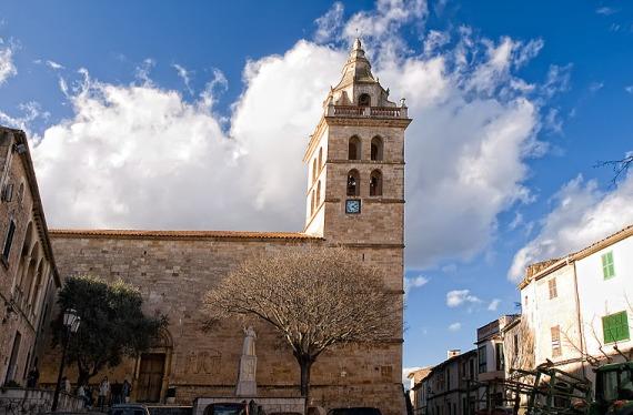 Iglesia en Mallorca